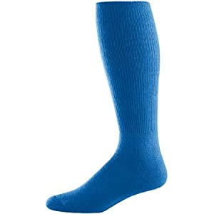 Augusta Athletic Socks (Royal Blue) (10-13)