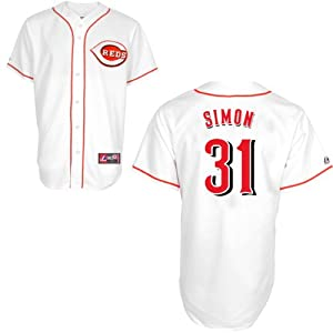 Buy Alfredo Simon Cincinnati Reds Home Replica Jersey by Majestic by Majestic