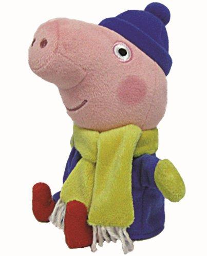 Peppa Pig George invierno -  Peluche 16cm