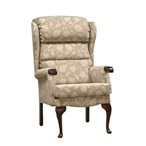 Luxury richmond high seat chair for the elderly or infirm for Comfortable chairs for seniors
