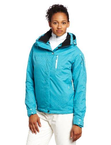 Salomon Women's Exposure Jacket, Bay Blue, Large