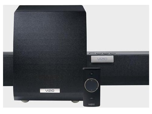 VIZIO VHT210 2.1 Home Theater Soundbar with Wireless Subwoofer (Black)