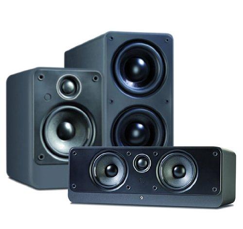 Q Acoustics 2000 5.1 ch Cinema Package (Graphite Black)