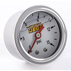 JEGS Performance Products 41040 Fuel Pressure Gauge