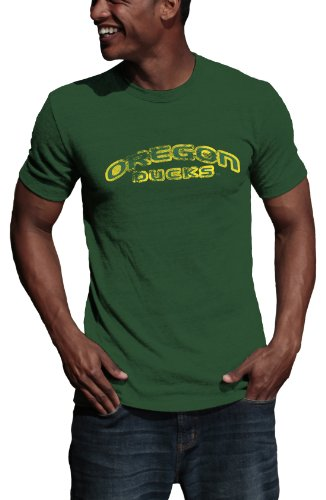 NCAA Oregon Ducks Vintage Logo Tee Shirt, Green, XXLarge