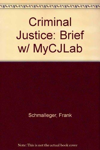 CRIMINAL JUSTICE BRIEF SVE&MCJLAB PKG