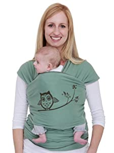 Moby Wrap Designs Baby Carrier, Owl