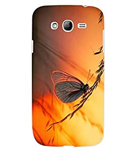 ColourCraft Beautiful Butterfly Design Back Case Cover for SAMSUNG GALAXY GRAND NEO PLUS I9060I