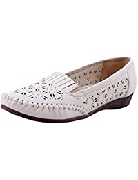 Adorn Women New Look Synthetic Leather Casual Shoes