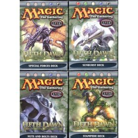 Magic the Gathering - Fifth Dawn Theme Deck Starter Set Of 4 [Toy]