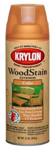 krylon-k03601000-exterior-semi-transparent-wood-stain-12-ounce-cedar