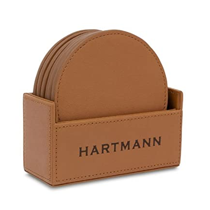 Hartmann Belting Leather Coaster Set