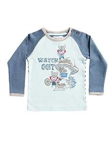 Phister & Philina - Camiseta con cuello redondo de manga larga para bebé