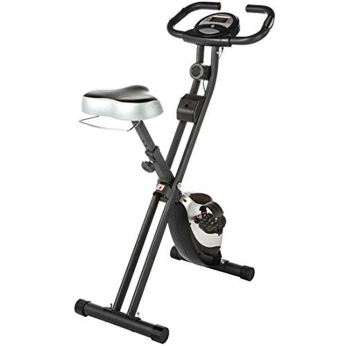 Ultrasport Trainer da Casa F-Bike con Sensori Delle Pulsazioni, Ripiegabile