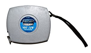Century Drill and Tool 72850 Extended Length Tape Measure, 100-Foot