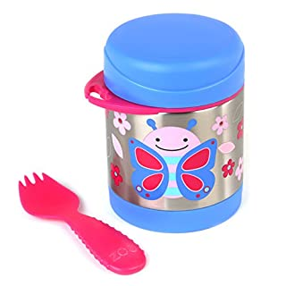 Skip Hop Zoo Insulated Food Jar, Butterfly