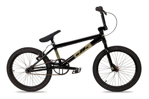 Dk Pro Bmx Bike With Gold Rims (Black, 20-Inch)