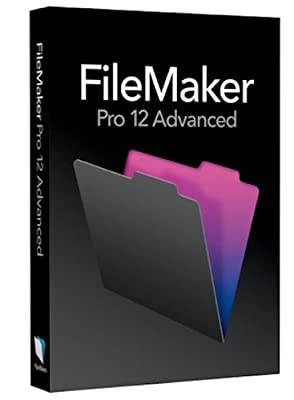FileMaker Pro 12 Advanced - English + Training DVD [Old Version]