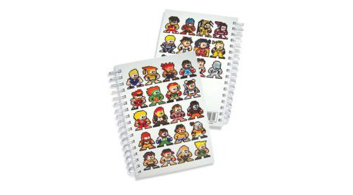 Super Street Fighter IV 8bit Hard Cover Notebook - 1