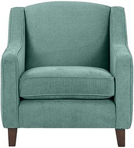 FabHomeDecor Alia Superb Single Seater Sofa (Aqua Blue)