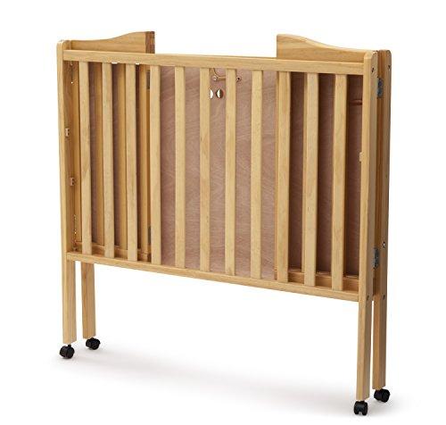 Delta Children Portable Mini Crib Natural Furniture Baby