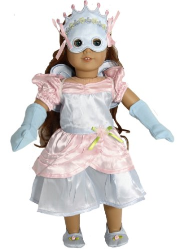 Fancy Dress & Fairy Costume for 18 Inch Dolls Like American Girl