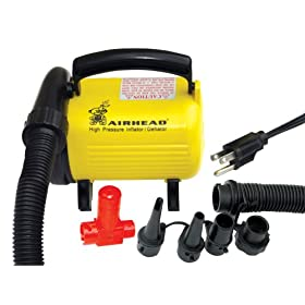 Kwik Tek Airhead Hi Pressure Air Pump with Press Release (120-Volt)