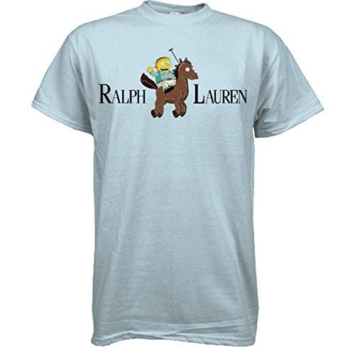Ralph Lauren Simpsons Funny T Shirt by Sweet Tees™ - Medium