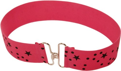 Molo Kids Party Pink Star Belt for Girls (Nellastic)