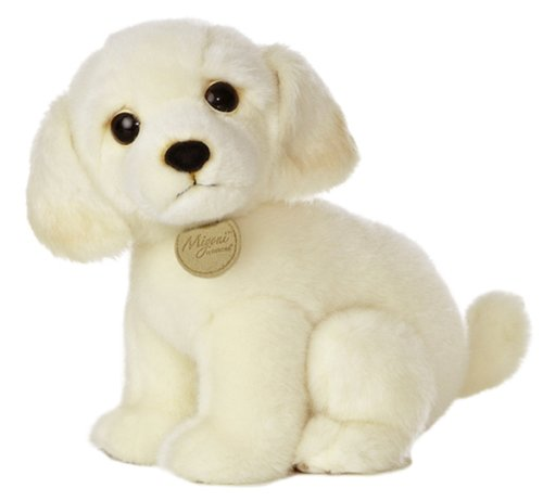 "Aurora World Miyoni Tots Yellow Labrador Pup 10"" Plush"