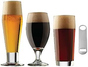 libbey craft brews glass set 25 piece beer. Black Bedroom Furniture Sets. Home Design Ideas