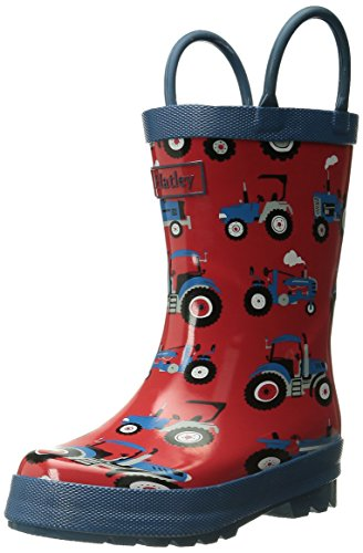 Hatley Boys' Printed Rain Boots, Red,10 (Rain Boots Printed compare prices)