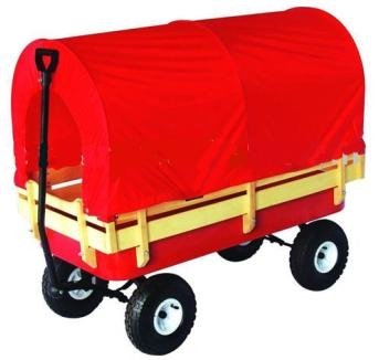 Covered All Terrain Wagon Pull Cart