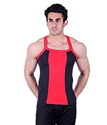Zimfit Mens Vest (BS_ZMV_113_Black_38_Multi-Coloured_X-Large)