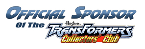 Official Sponsor of the Transformers Club