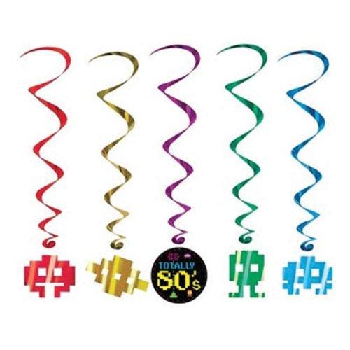 80's Whirls   (5/Pkg)