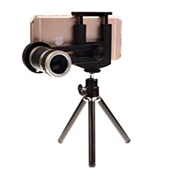 Big Dragonfly Universal 8X Zoom Adjustable Portable Mobile Phone Telescope Camera Lens Kit with Mental Tripod for Iphone5 5s, 6, 6plus, Sumsung S3, S4, S5, NOTE 3, 4, htc, sony, Nokia
