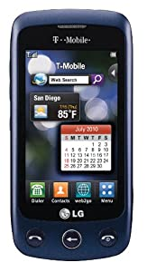 T-Mobile NEW LG Sentio GS505 No Contract GSM 3G Touchscreen Cell Phone