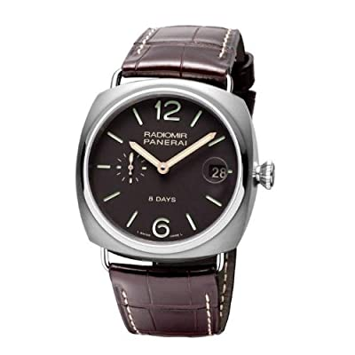 Panerai Men's PAM00346 Radiomir Analog Display Mechanical Hand Wind Brown Watch