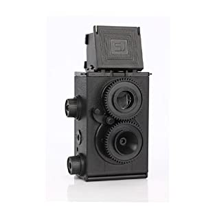 DIY Twin Lens Reflex TLR For Camera Holga Lomo Recesky