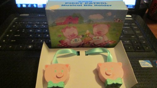 "Avon Piggy Patrol ""Musical Bib Holder"" - 1992 - 1"