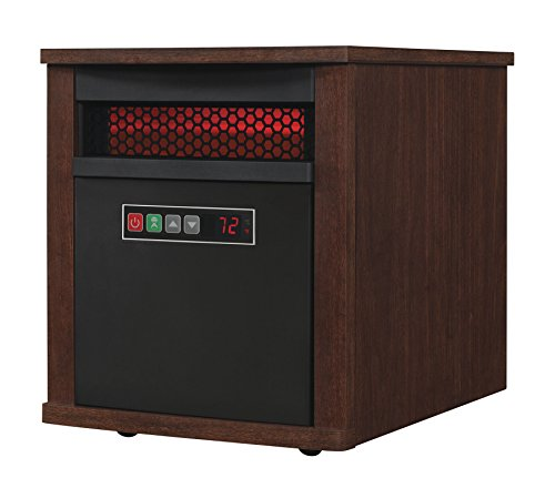 B00K172JMO Duraflame 9HM7000-NC04 Portable Electric Infrared Quartz Heater, Cherry