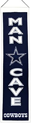 NFL Dallas Cowboys Man Cave Banner
