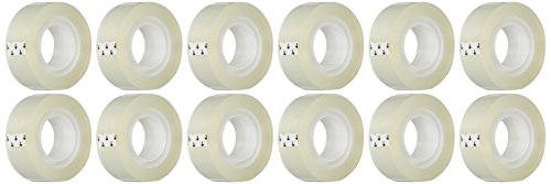 bsn-43575-transparent-tape-3-4-by-1000-inch-clear-12-pack