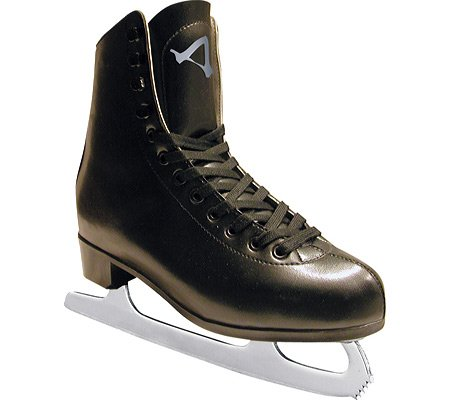 American Athletic Shoe Men's Leather Lined Figure Skates, Black, 12 (Ice Skate Shoes Men compare prices)