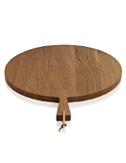 Oak Round Paddle Chopping Board