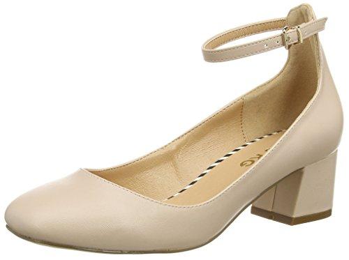 Miss KGAMBER - Scarpe con Tacco donna , Beige (Beige (Nude)), 36 2/3