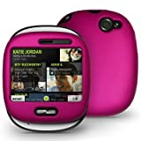 Hot Pink Rubber Feel Snap-On Cover Hard Case Cell Phone Protector for Veriz ....