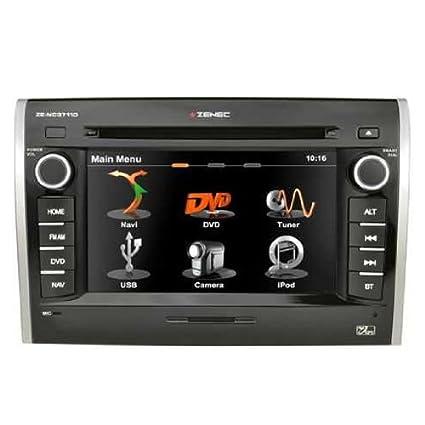 Zenec ze-nc3711d-Fiat AV voiture Navigation CD/DVD Bluetooth stéréo 15,7cm Écran LCD