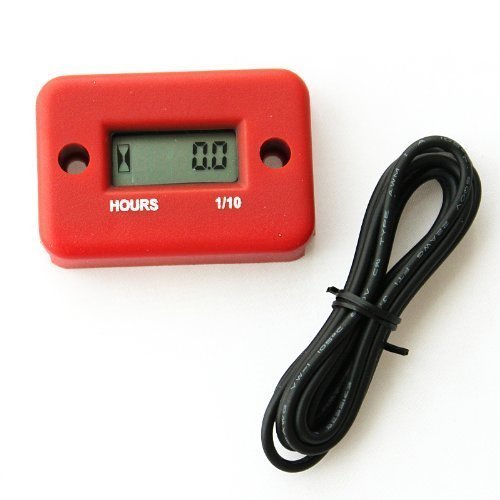 discoGoods Waterproof Digital LCD Inductive Marine Motorcycle ATV Snowmobile Marine Boat Hour Meter (Inductive Tachometer Motorcycle compare prices)